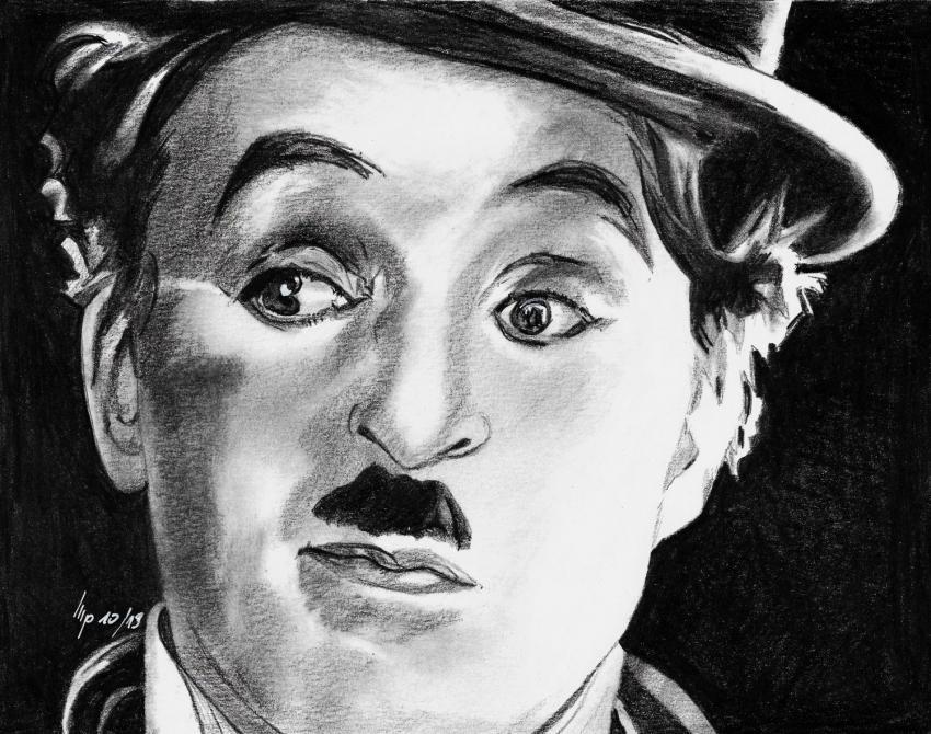 Charlie Chaplin por patrick